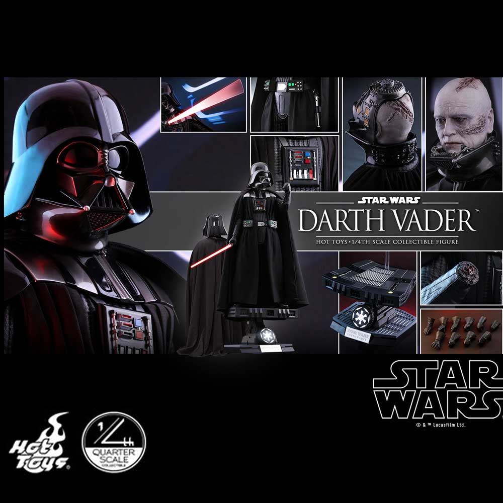 HOT TOYS STAR WARS DARTH VADER 1/4 QS013