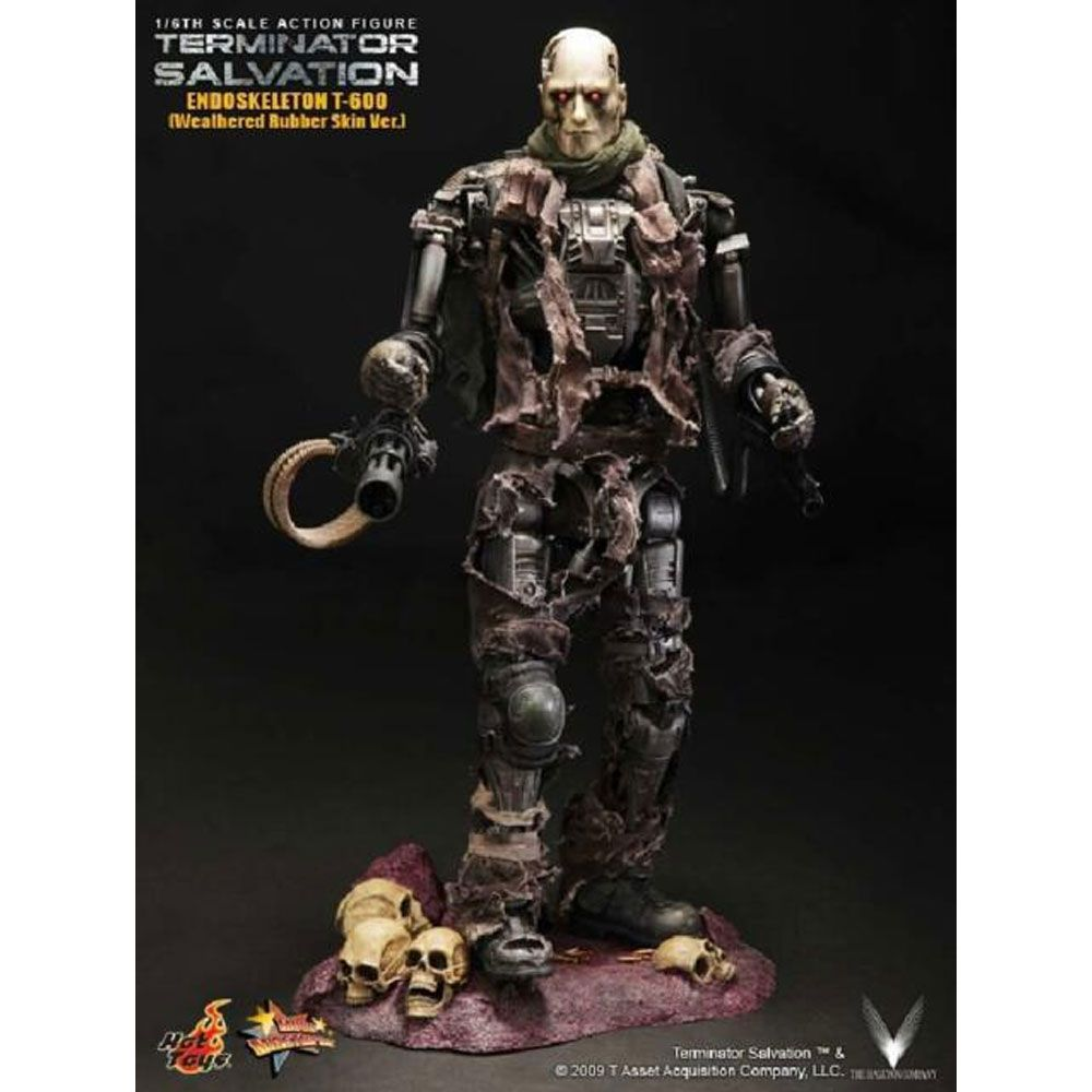 HOT TOYS TERMINATOR T-600 MMS104