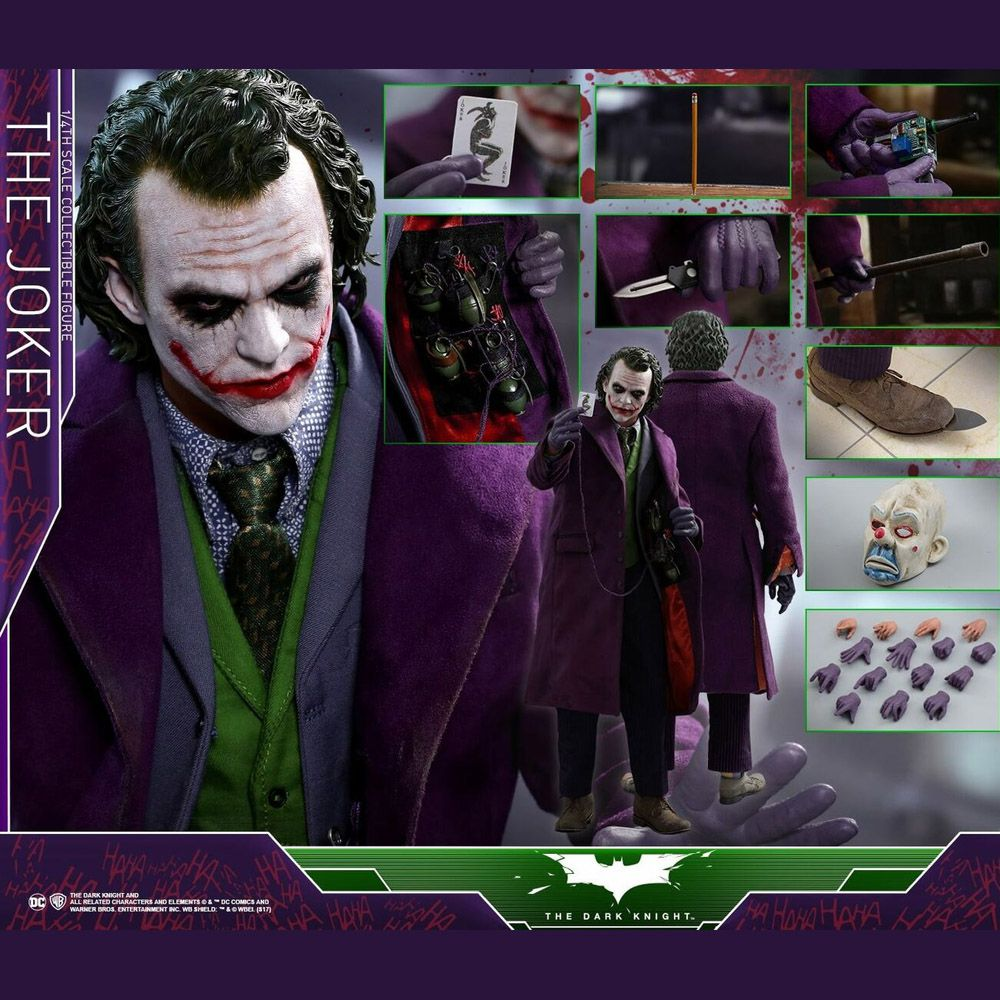 HOT TOYS THE JOKER 1/4 QS010 Batman