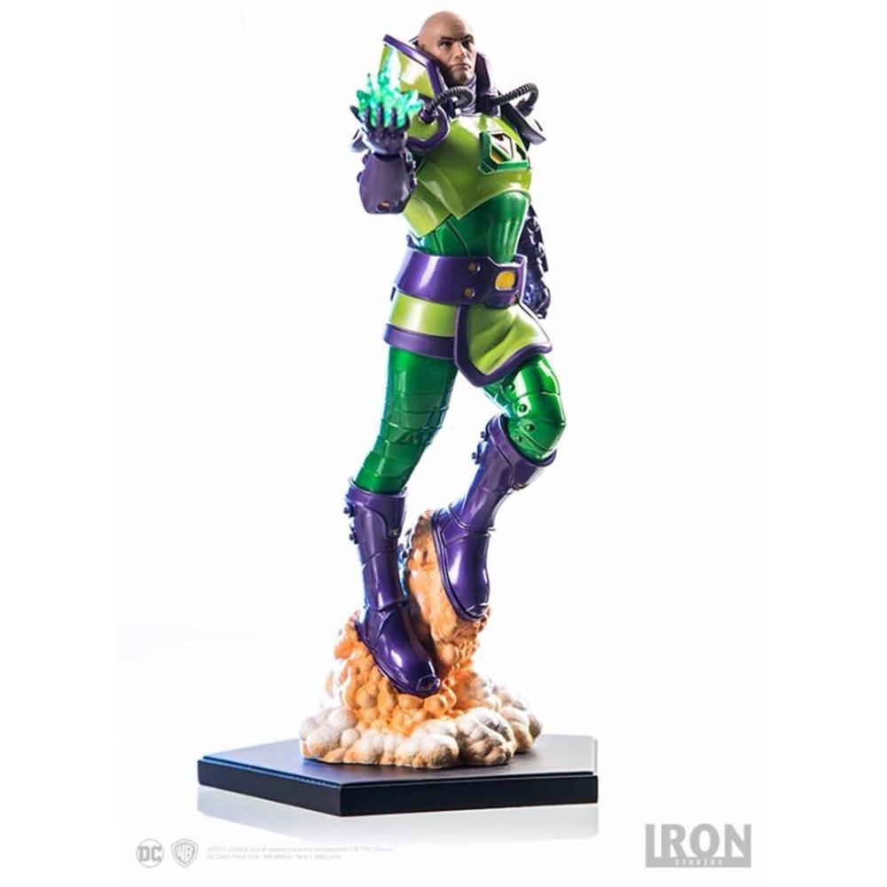 Iron Studios Lex Luthor by Ivan Reis series 2 1/10 Art Scale Iron Studios
