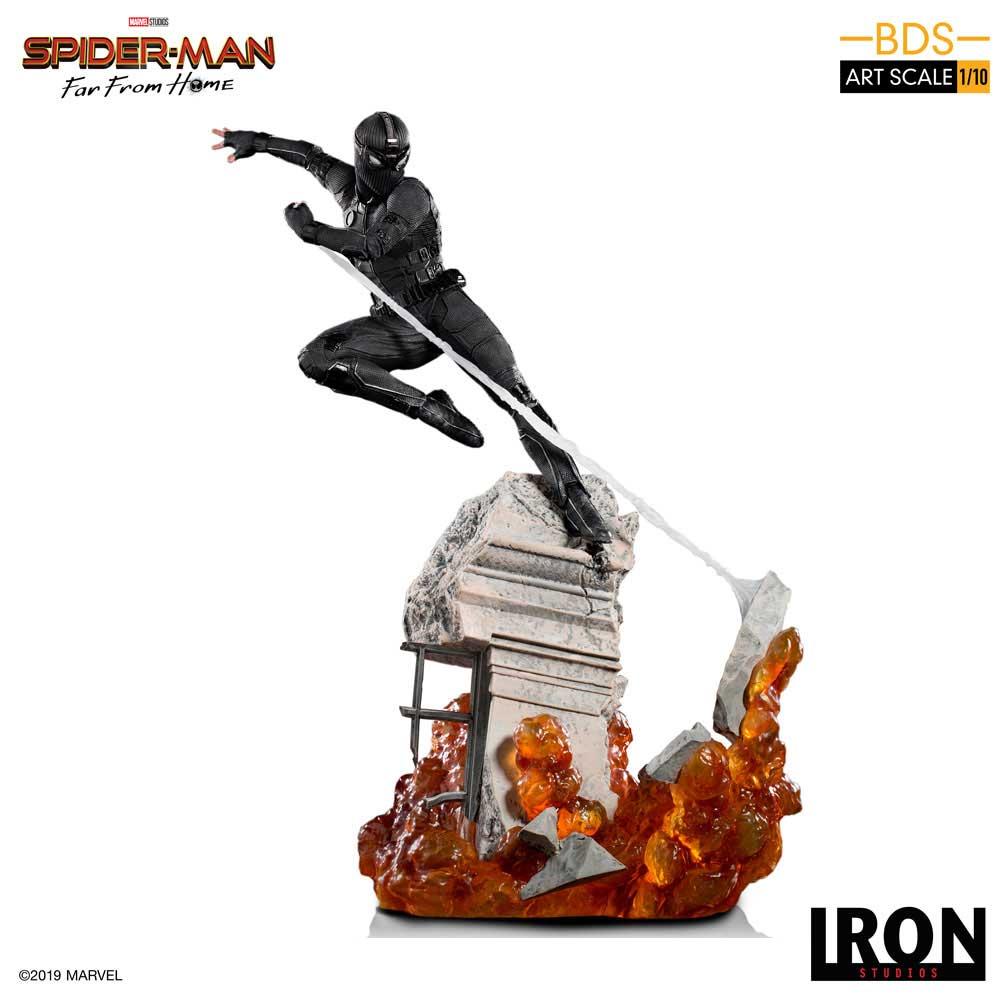 IRON STUDIOS NIGHT MONKEY SPIDER MAN FAR FRON HOME 1/10