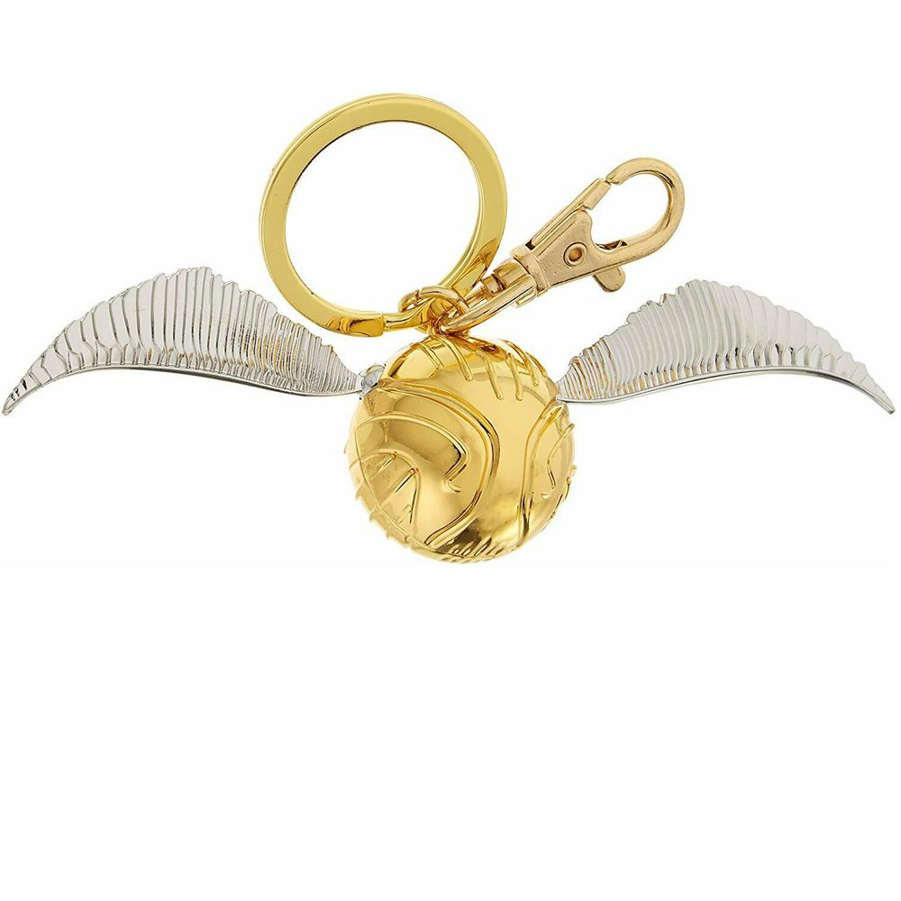 KEYCHAIN CHAVEIRO HARRY POTTER GOLD SNITCH PEWTER
