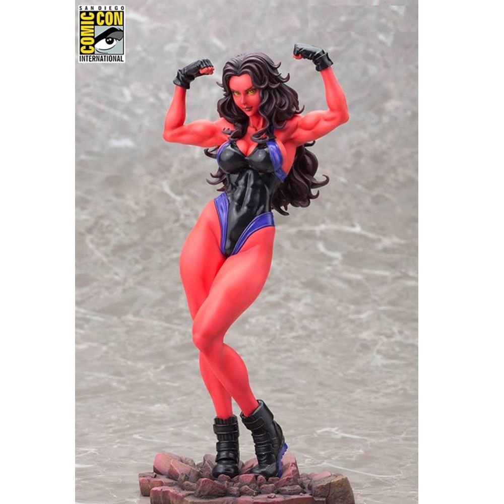 KOTOBUKIYA BISHOUJO RED SHE-HULK SDCC