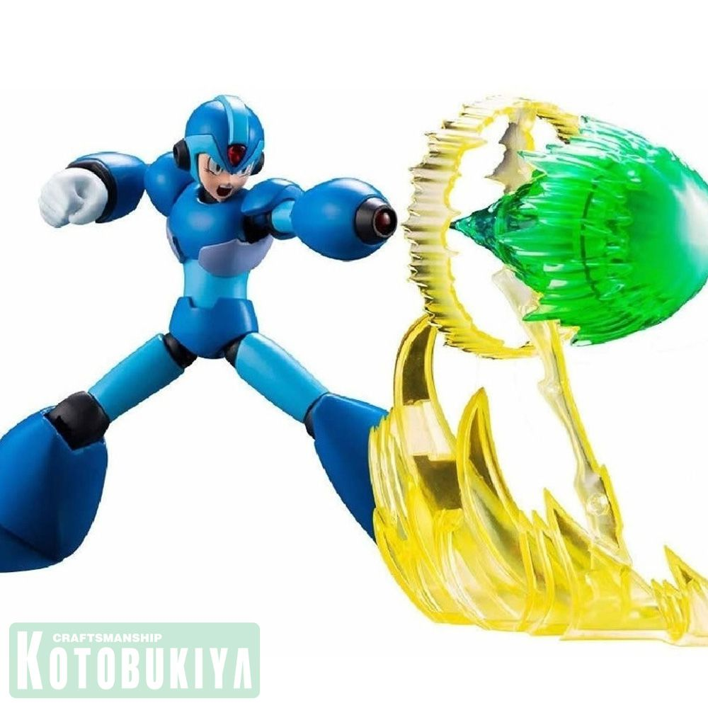 KOTOBUKIYA MEGAMAN X 1/12 Scale Full Action Model MEGA MAN