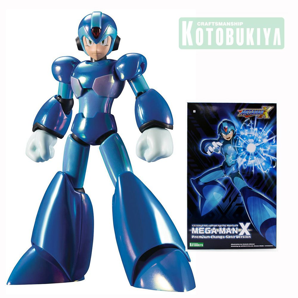 KOTOBUKIYA MEGAMAN X PREMIUM CHARGE SHOT 1/12 Scale Full