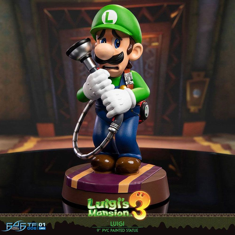 Luigi s Mansion 3 Luigi Statue Luigi First 4 Figures Mario