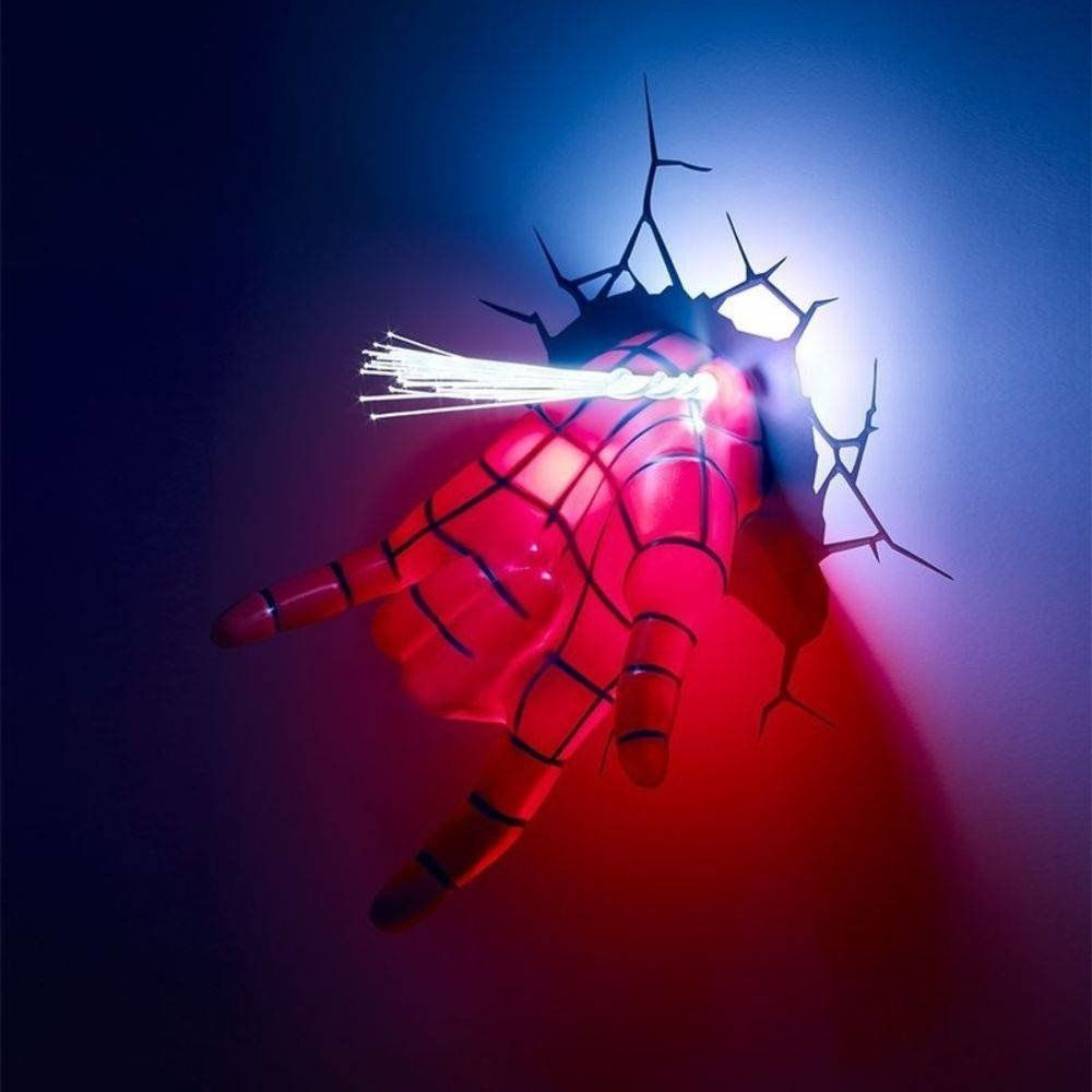 LUMINARIA SPIDER MAN HAND
