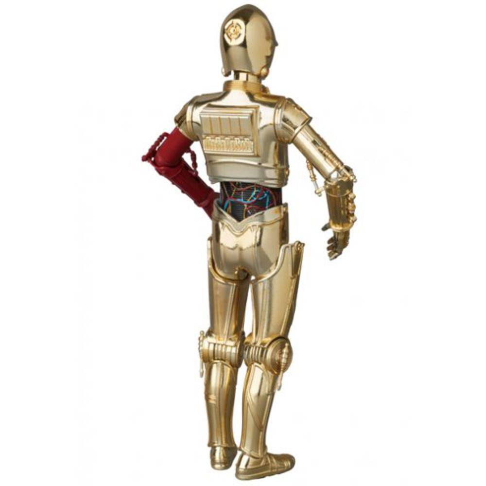 MAFEX 029 C-3PO E BB-8 STAR WARS