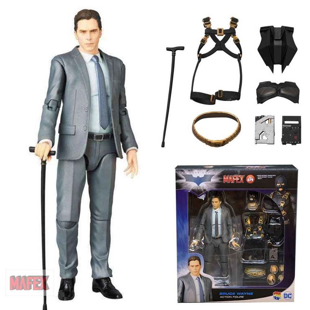 MAFEX 079 BRUCE WAYNE BATMAN TDK DARK KNIGHT