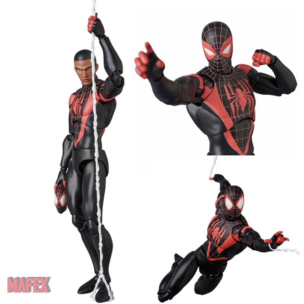 MAFEX 092 SPIDER MAN MILES MORALES