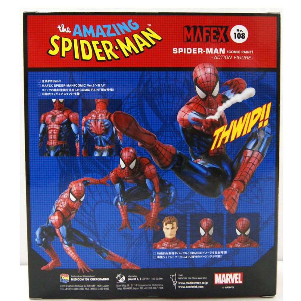 MAFEX 108 THE AMAZING SPIDER MAN COMICS
