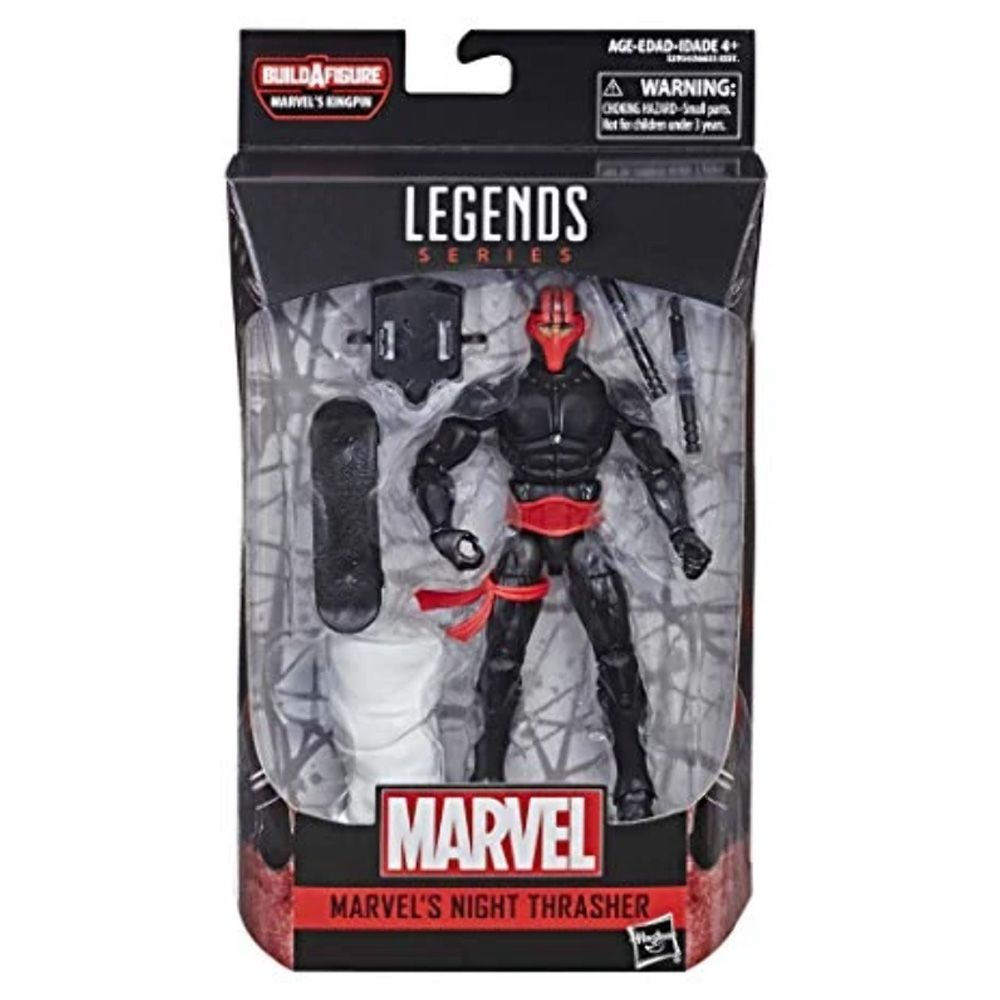 MARVEL LEGENDS NIGHT TRASHER BAF MARVEL'S KINGPIN
