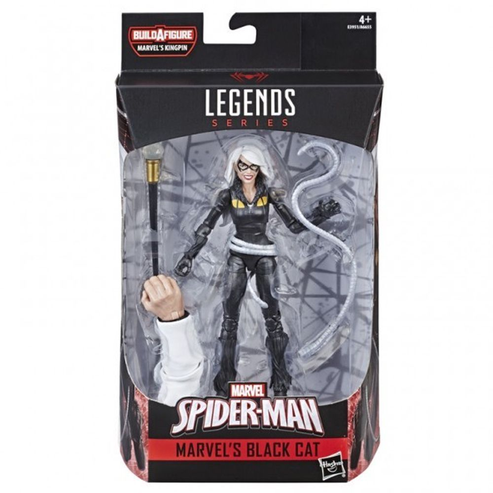 MARVEL LEGENDS Spider Man BAF MARVELS KINGPIN  BLACK CAT
