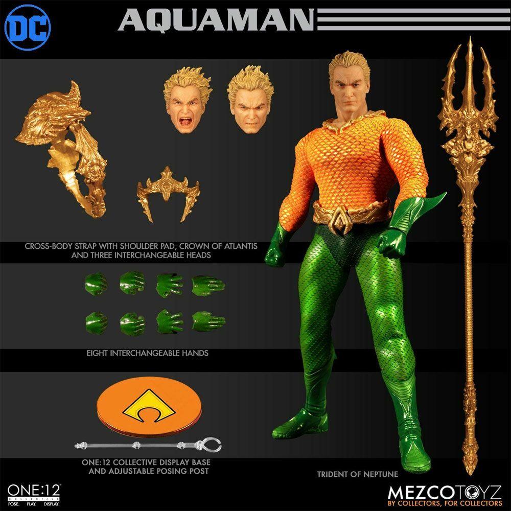 MEZCO One:12 Collective Aquaman CLASSIC