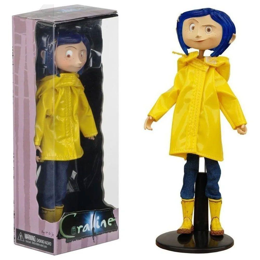 Neca Coraline Raincoat & Boots Action Figure