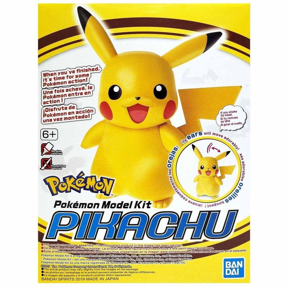 Pikachu Pokemon Model Kit Bandai