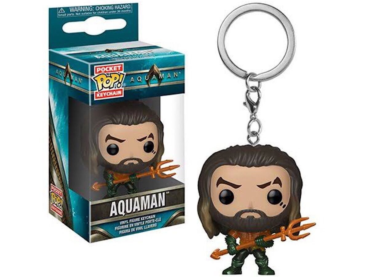 POCKET POP KEYCHAIN CHAVEIRO FUNKO AQUAMAN Arthur Curry