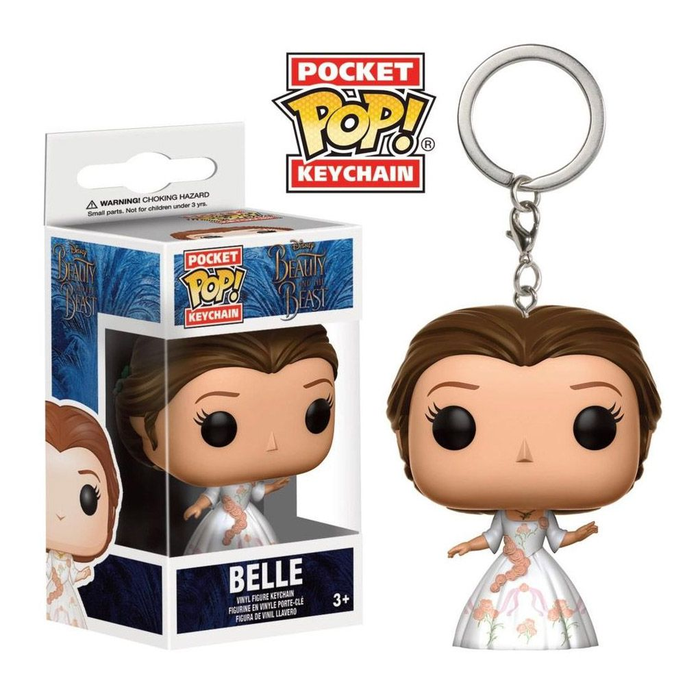 POCKET POP KEYCHAIN CHAVEIRO FUNKO BELLE BEAUTY AND BEAST