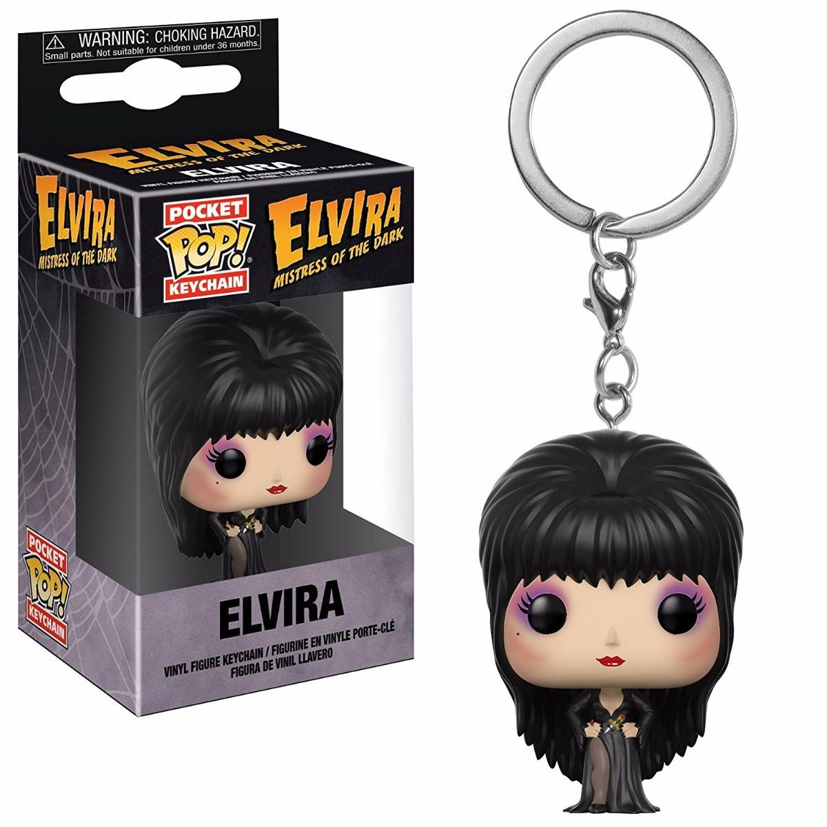 POCKET POP KEYCHAIN CHAVEIRO FUNKO Elvira