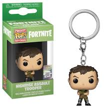 POCKET POP KEYCHAIN CHAVEIRO FUNKO HIGHRISE TROOPER FORTNITE