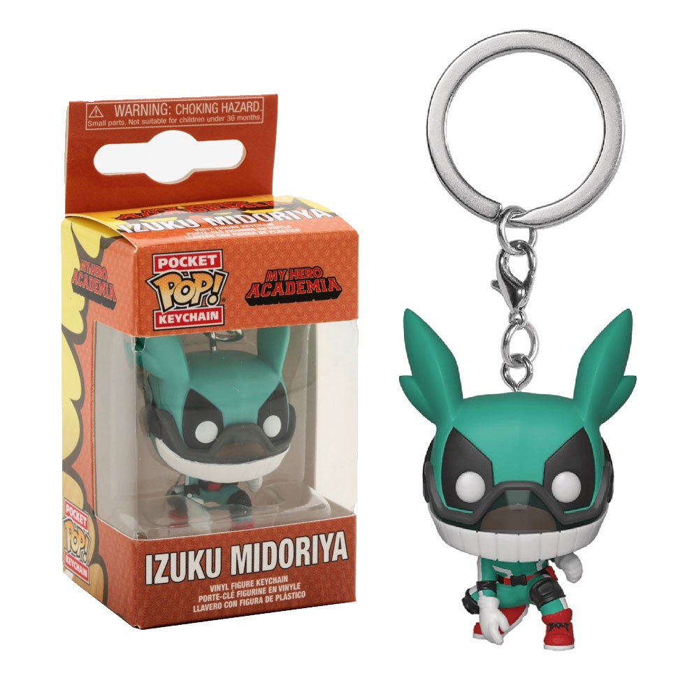 POCKET POP KEYCHAIN CHAVEIRO FUNKO IZUKU MIDORIYA MY HERO