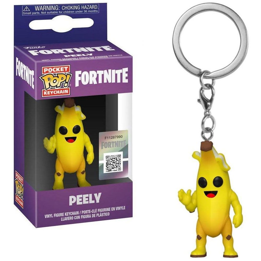 POCKET POP KEYCHAIN CHAVEIRO FUNKO PEELY FORTNITE