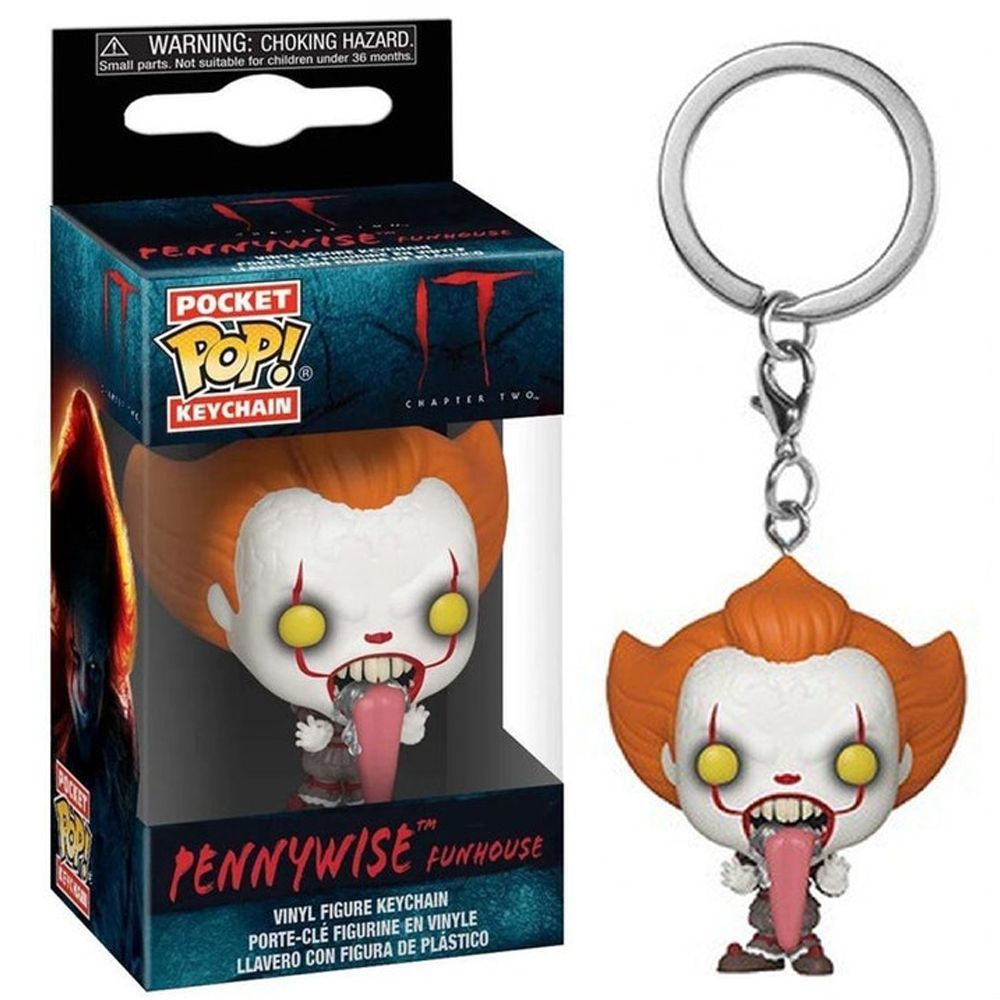 POCKET POP KEYCHAIN CHAVEIRO FUNKO PENNYWISE FUNHOUSE