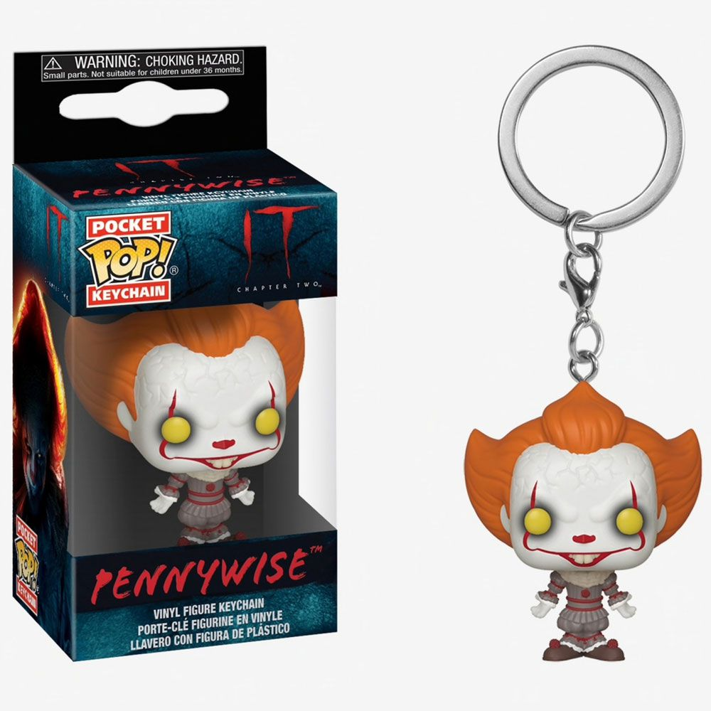 POCKET POP KEYCHAIN CHAVEIRO FUNKO PENNYWISE OPEN ARM