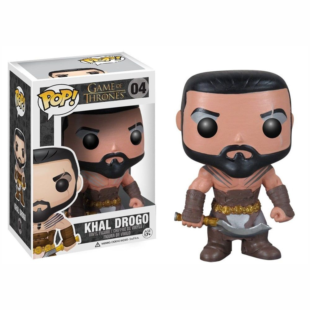 POP FUNKO 04 KHAL DROGO GAME OF THROENS