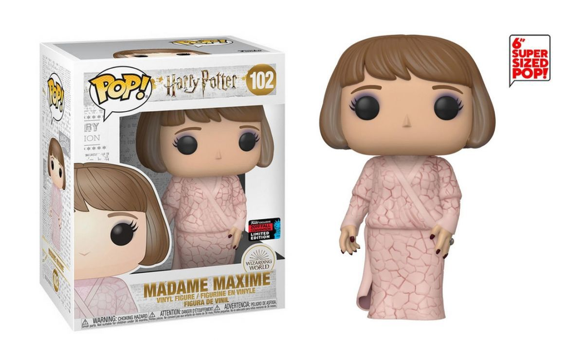 POP FUNKO 102 MADAME MAXIME HARRY POTTER