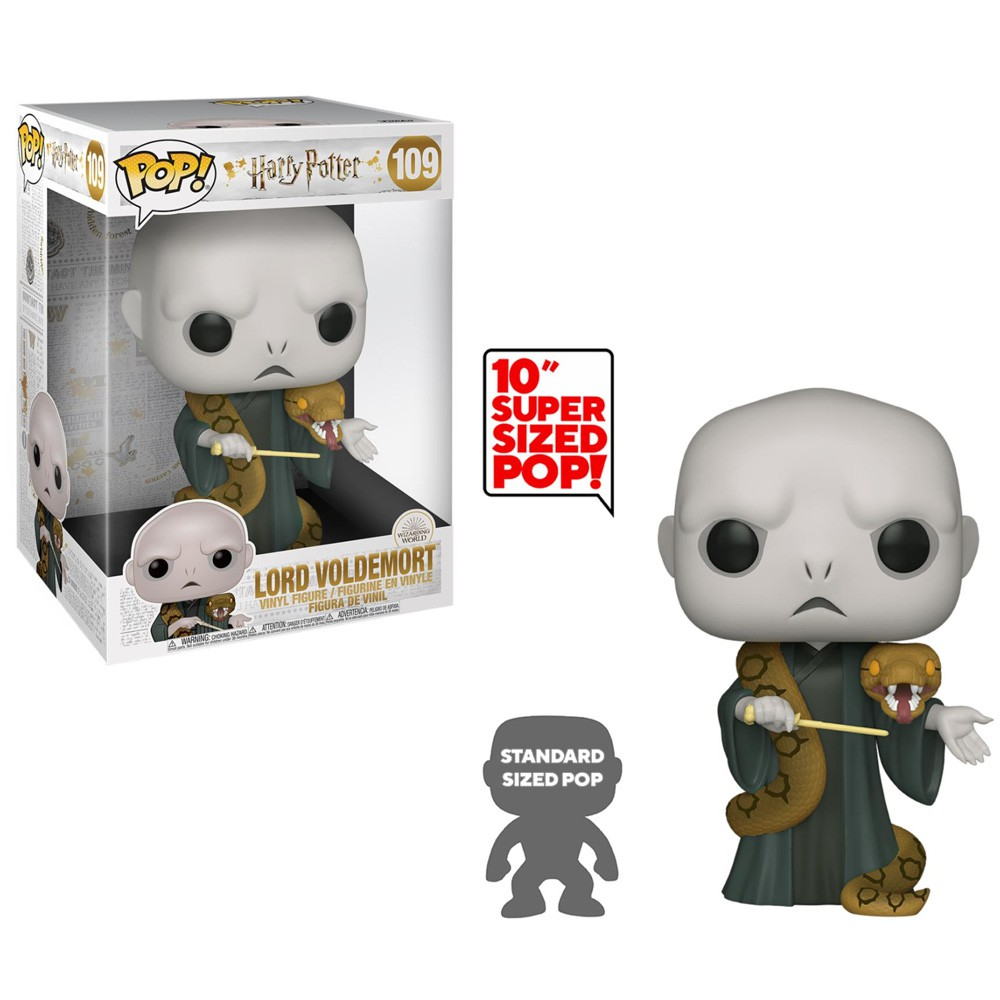 POP FUNKO 109 VOLDEMORT & NAGINI HARRY POTTER