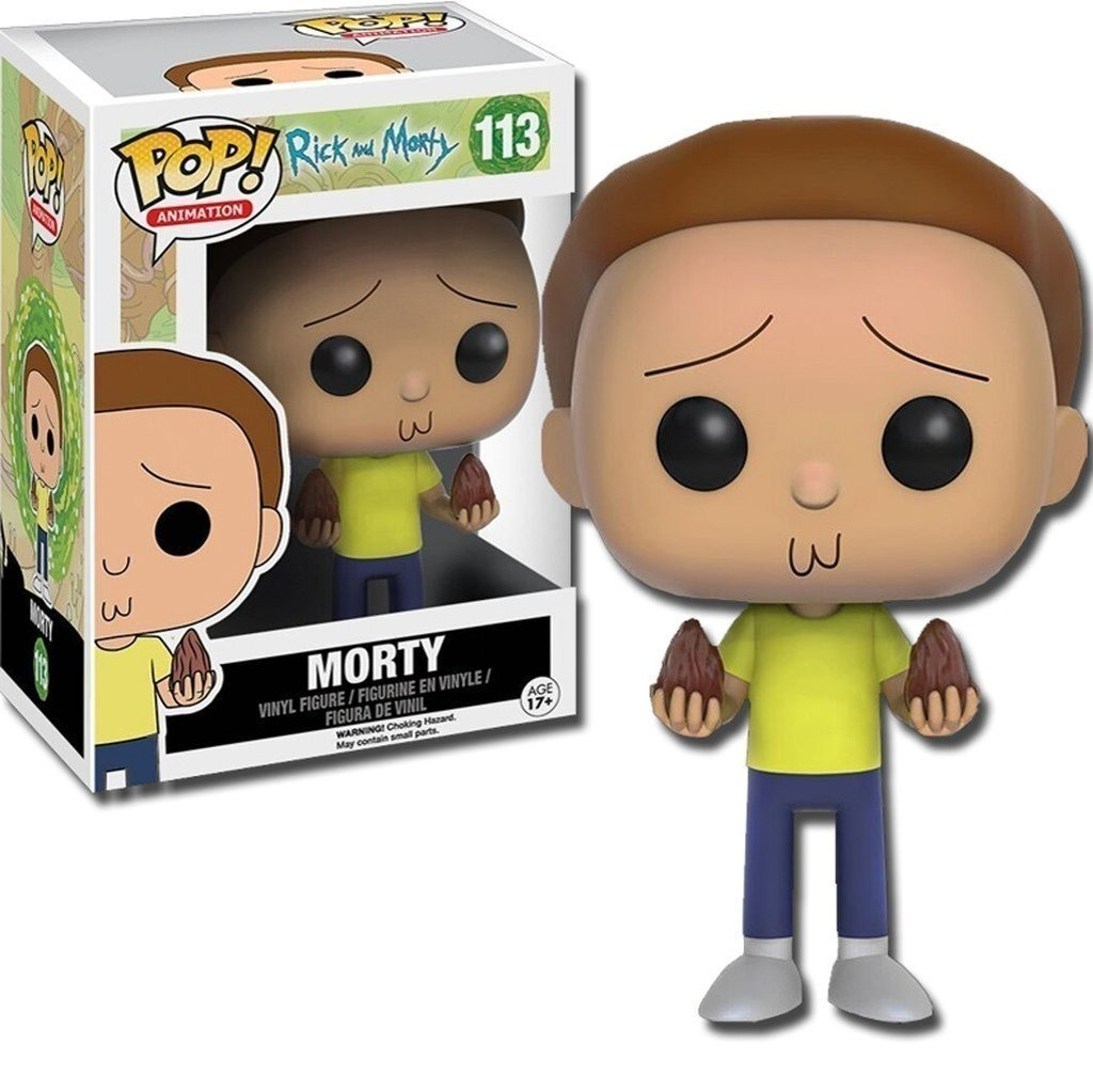 POP FUNKO 113 MORTY RICK AND MORTY