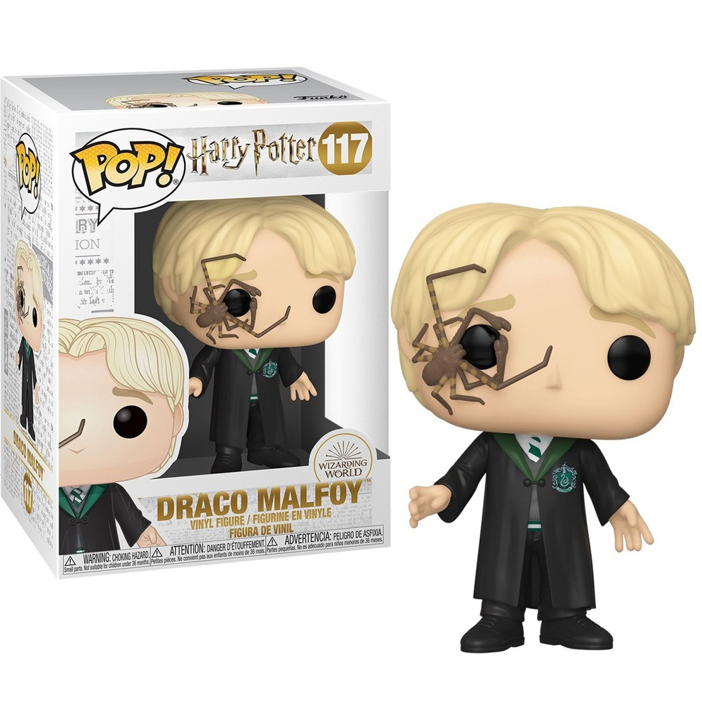 POP FUNKO 117 DRACO WHIP SPIDER HARRY POTTER