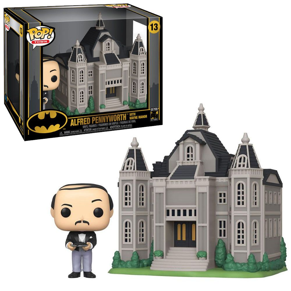 POP FUNKO 13 ALFRED PENNYWORTH WITH WAYNE MANOR BATMAN