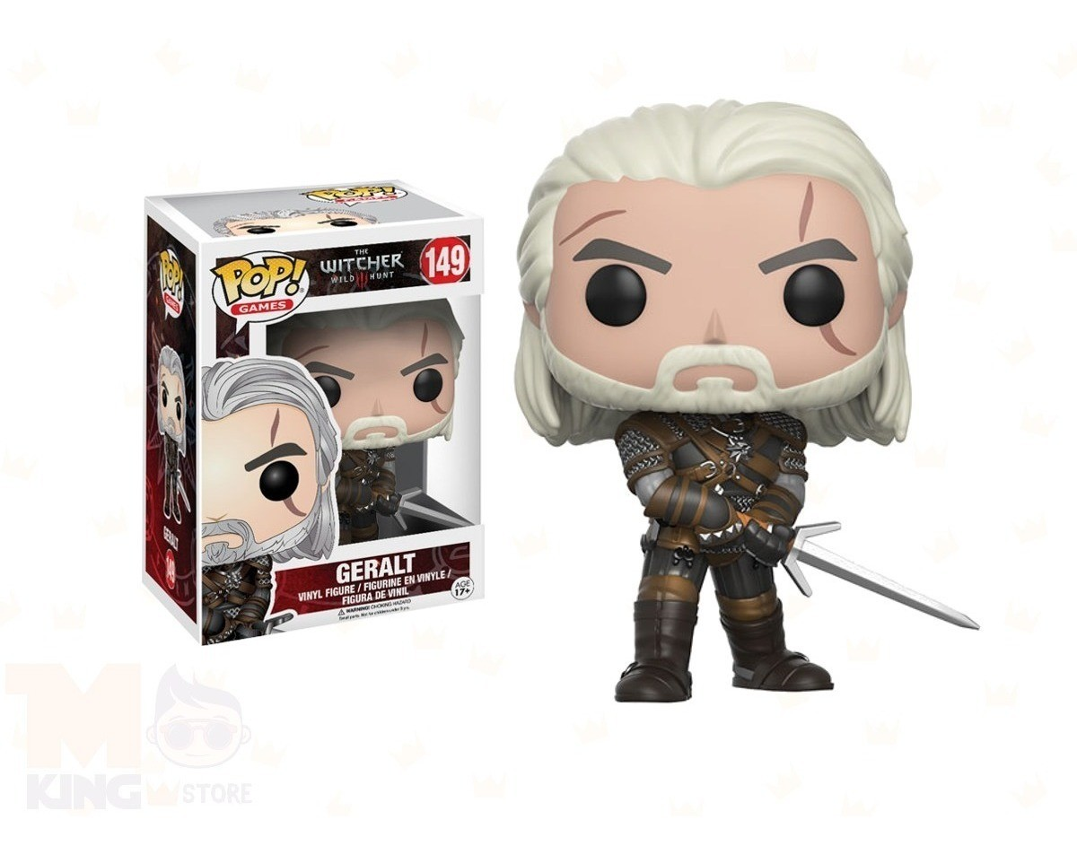 POP FUNKO 149 GERALT THE WITCHER