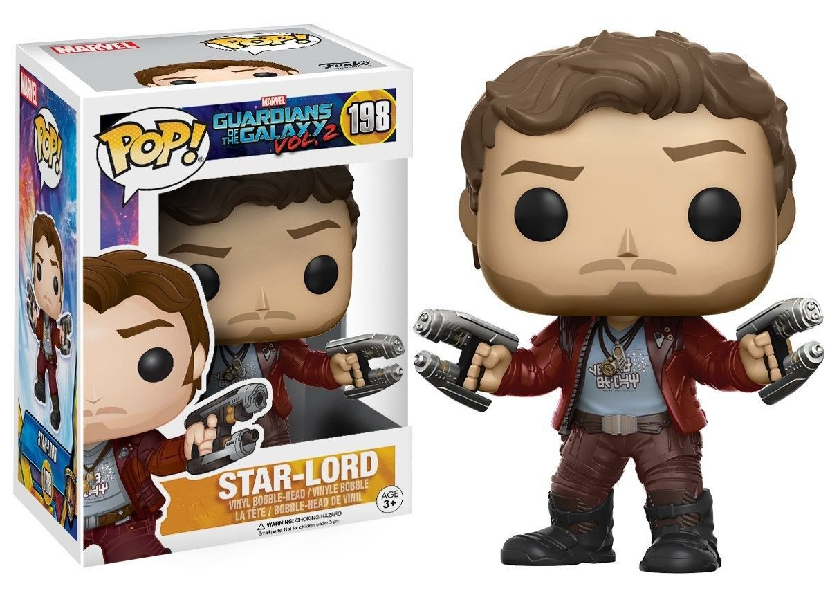 POP FUNKO 198 STAR LORD GUARDIANS OF THE GALAXY