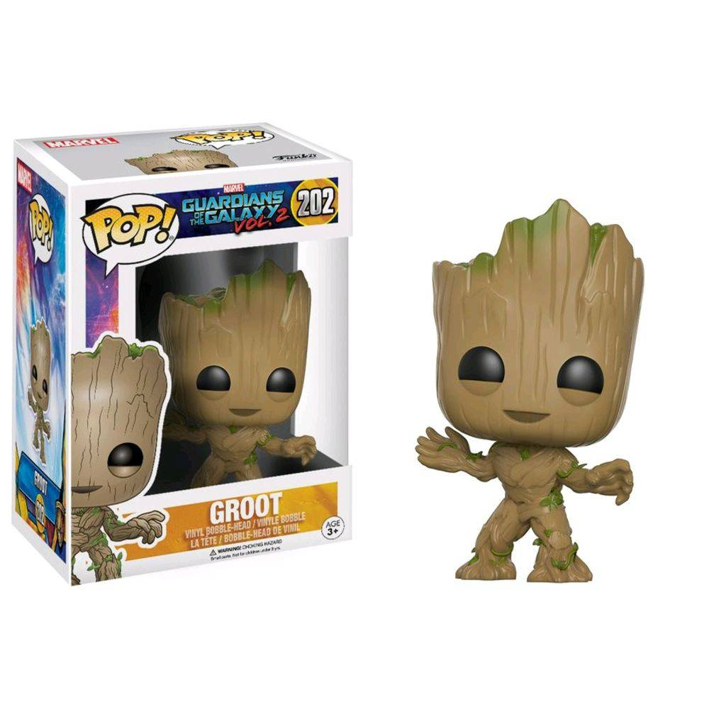 POP FUNKO 202 GROOT GUARDIANS OF THE GALAXY
