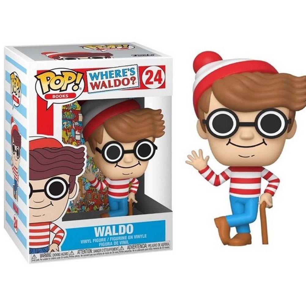 POP FUNKO 24 WALDO WHERE'S WALDO