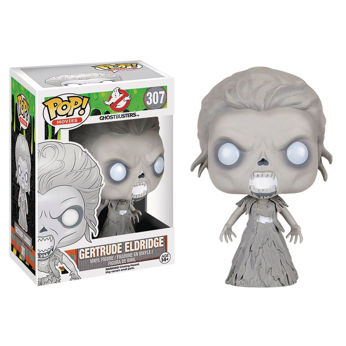 POP FUNKO 307 GERTRUDE ELDRIDGE GHOSTBUSTER
