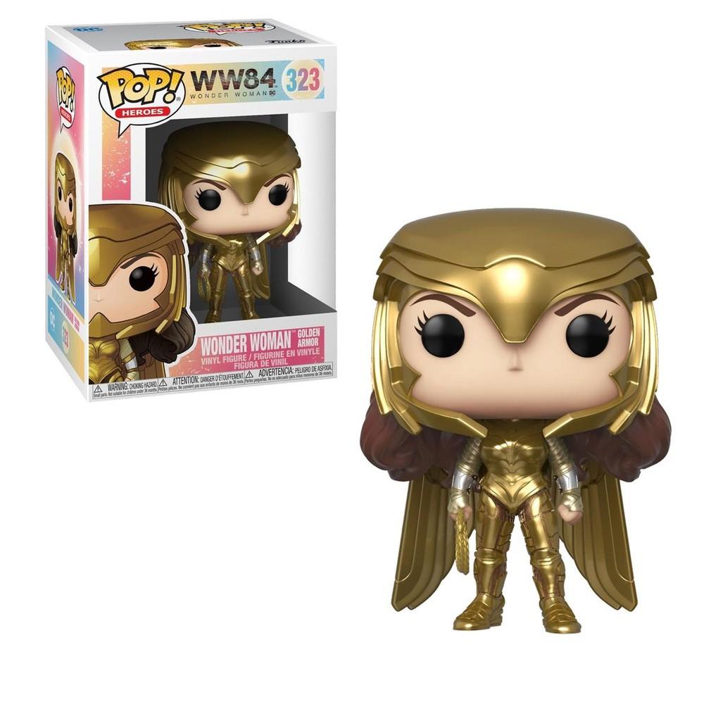 POP FUNKO 323 WONDER WOMAN GOLD POWER WW84