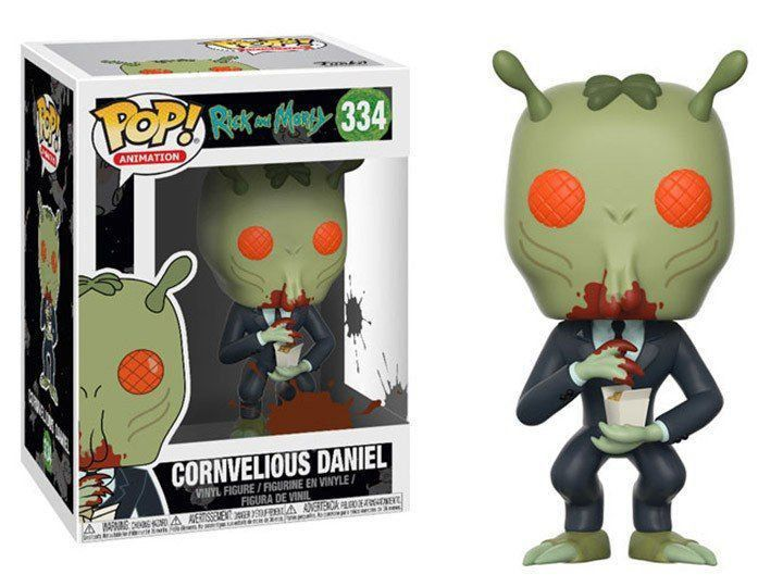 POP FUNKO 334 GORVELIOUS DANIEL RICK AND MORTY
