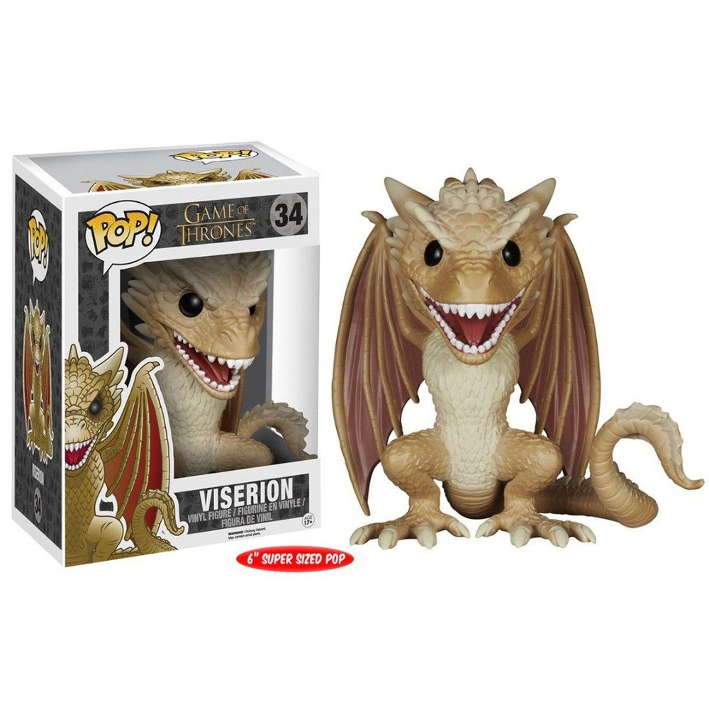 POP FUNKO 34 VISERION GAME OF THRONES
