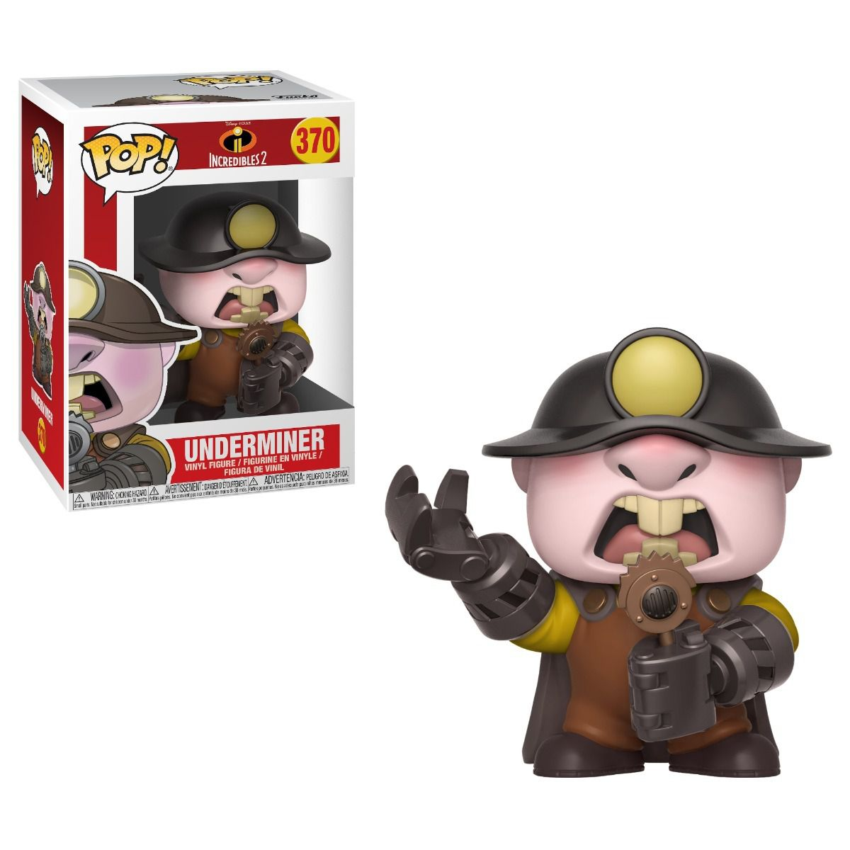 POP FUNKO 370 UNDERMINER INCREDIBLES 2 OS INCRIVEIS