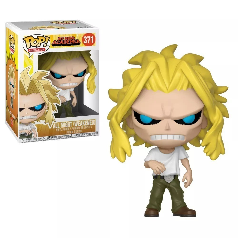 POP FUNKO 371 ALL MIGHT WEAKEND MY HERO ACADEMIA