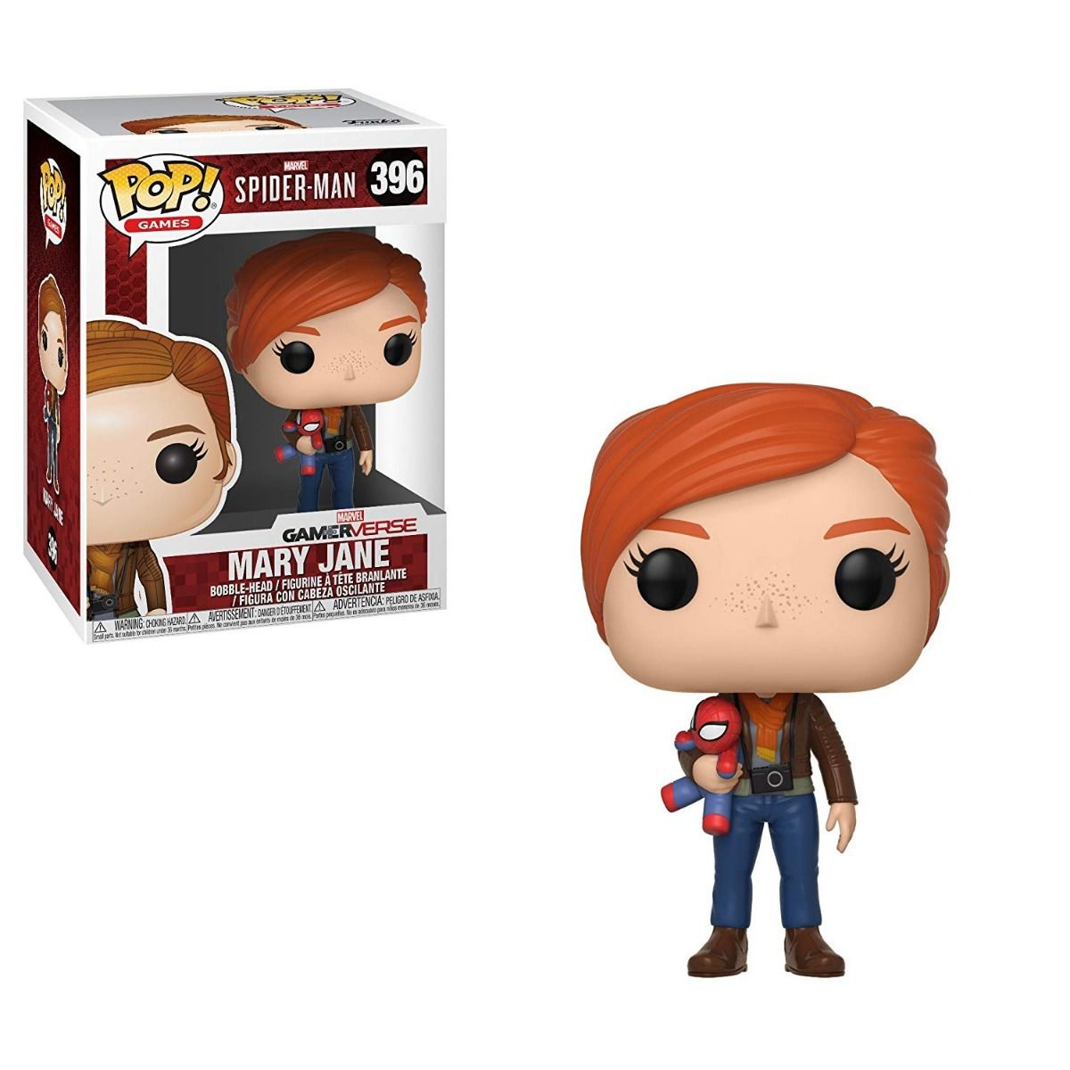 POP FUNKO 396 MARY JANE GAMER VERSE SPIDER MAN
