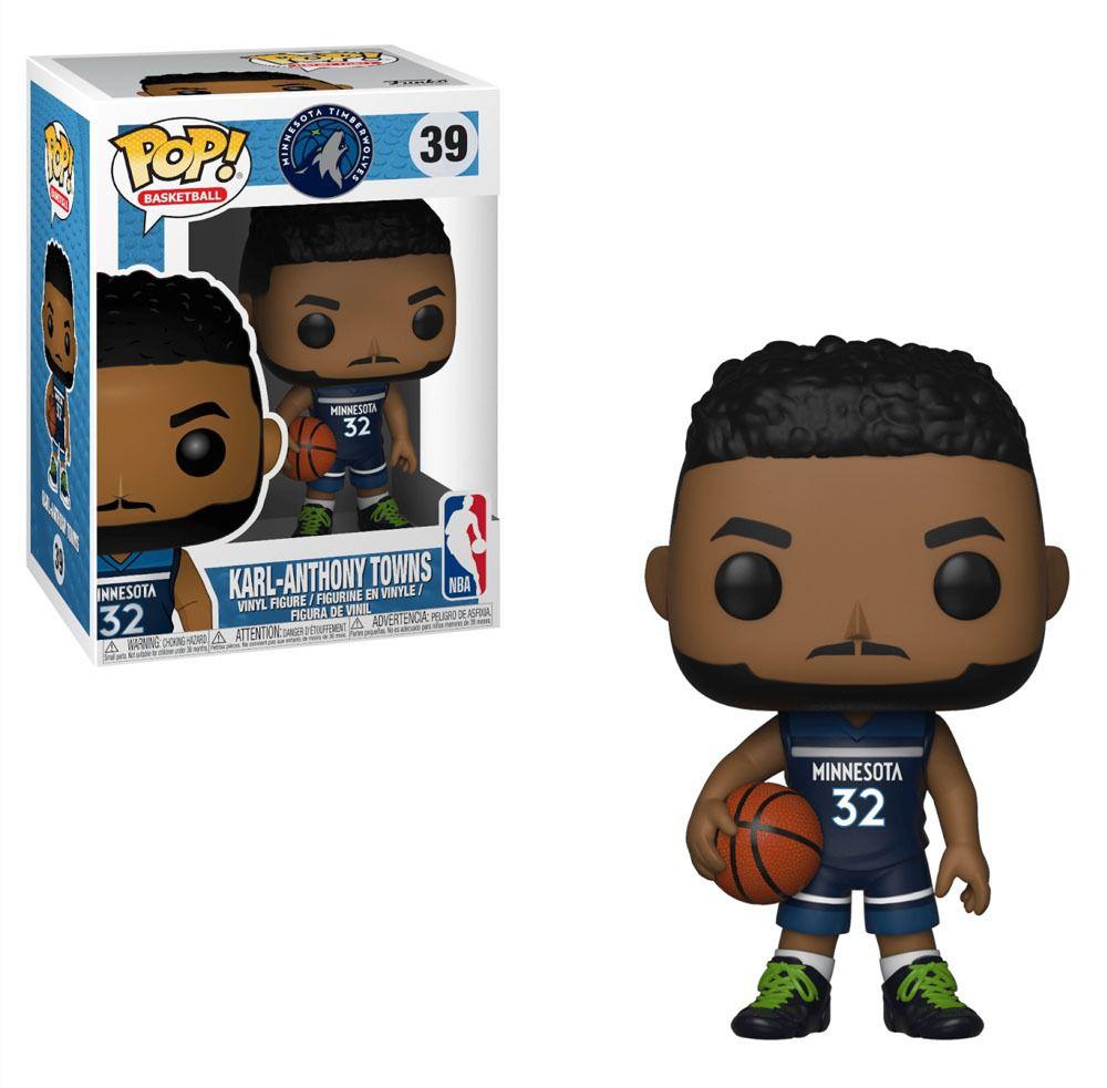 POP FUNKO 39 KARL ANTHONY TOWNS  Timberwolves NBA