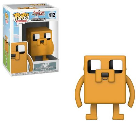 POP FUNKO 412 JAKE ADVENTURE TIME JAKE