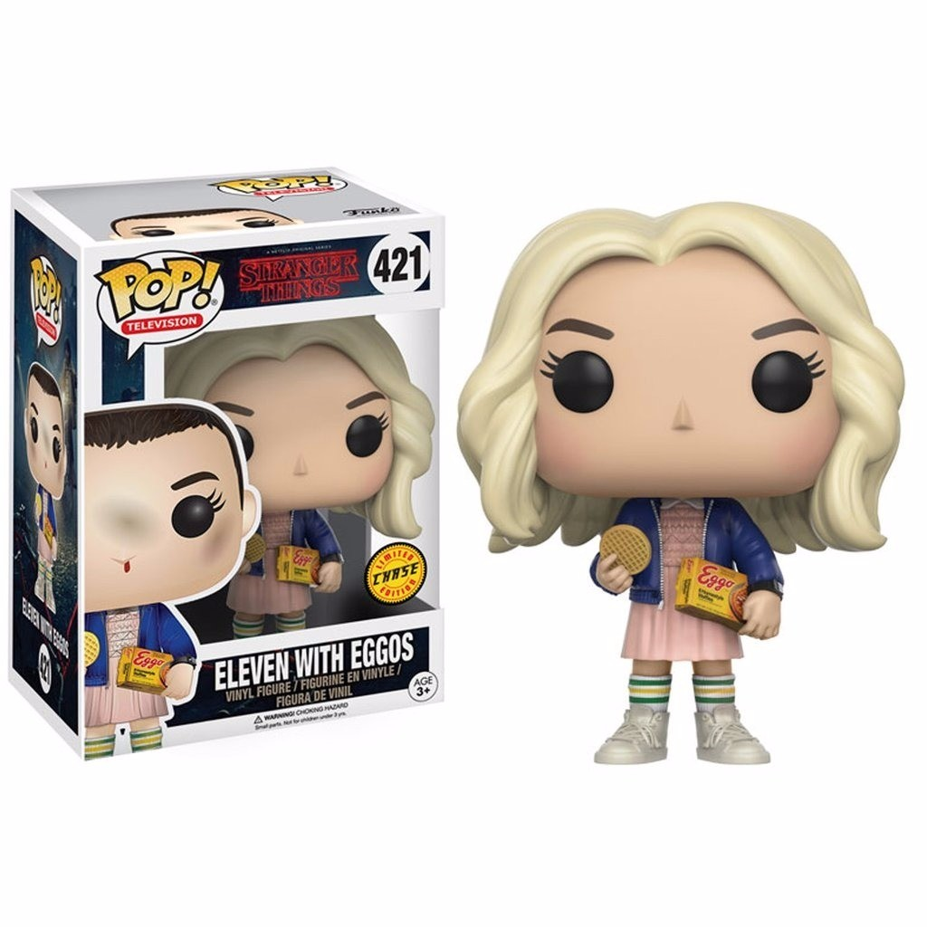POP FUNKO 421 CHASE ELEVEN WITH EGGOS STRANGER THINGS