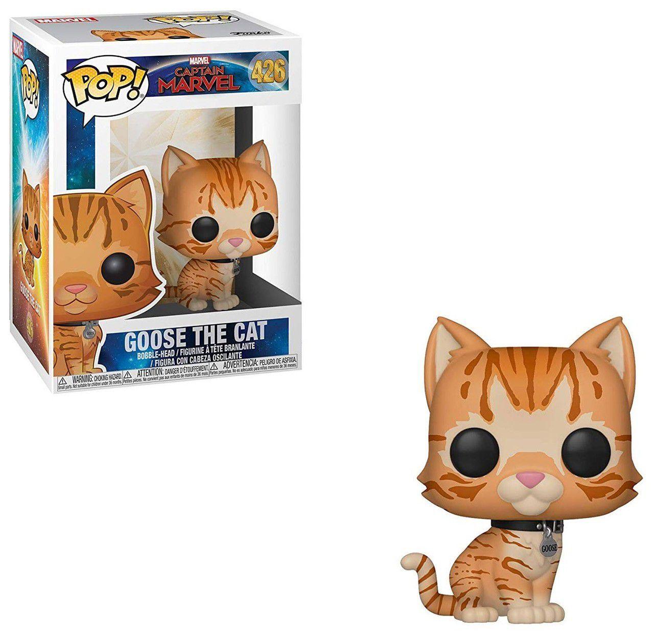 POP FUNKO 426 GOOSE THE CAT CAPTAIN MARVEL