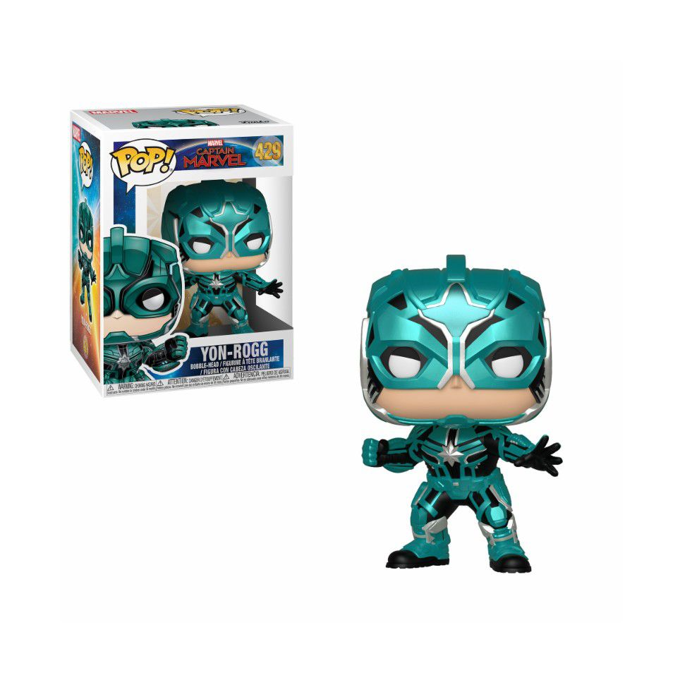 POP FUNKO 429 YON ROGG CAPTAIN MARVEL Star Commander